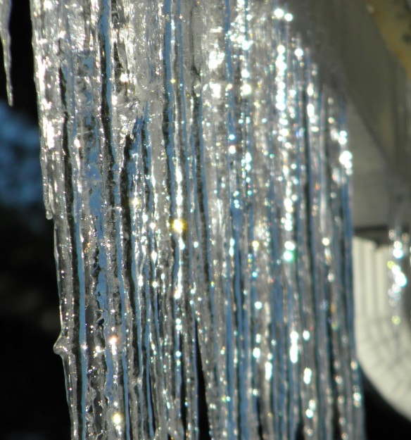 Shiny icicles