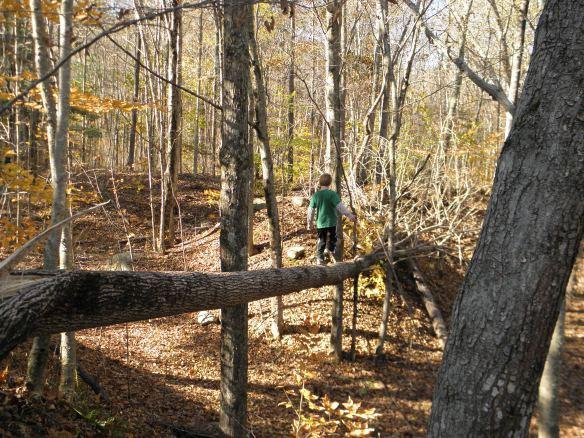 log running